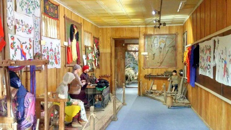Быт различных сословий, Этнографический музей Борджгало, Батуми, Грузия
