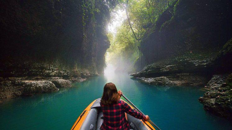 Реки и каньоны парка , Национальный парк Мтирала, Батуми, Грузия