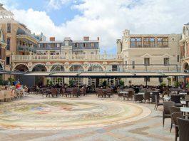 Мозаичный пол площади Пьяцца, площадь Пьяцца, Батуми, Грузия