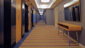 Лифтовый коридор отеля, Radisson Blu Batumiotel, Батуми, Грузия