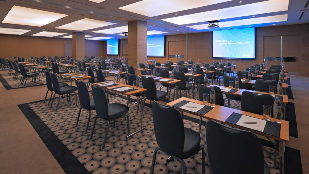 Большой конференц - зал, Radisson Blu Batumiotel, Батуми, Грузия