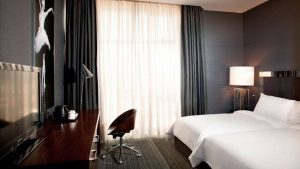 Однокомнатный номер Deluxe Room, Sheraton Hotel, Батуми, Грузия