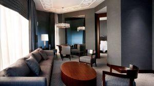 Гостиная Executive Suite, Sheraton Hotel, Батуми, Грузия