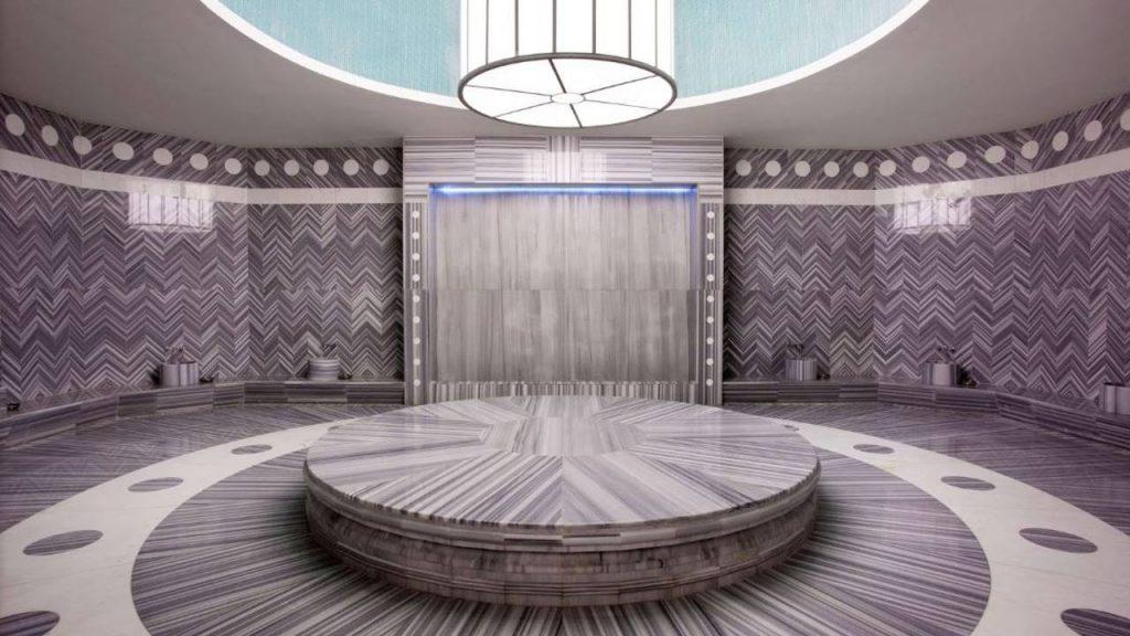 Турецкая баня в СПА-центре Shine Spa Batumi, Sheraton Hotel, Батуми, Грузия