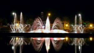 , поющие фонтаны, Батуми, Грузия
